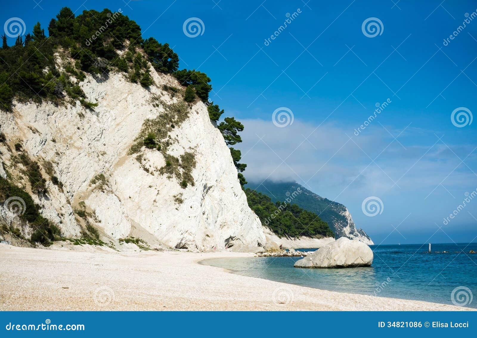 Пляж Numana