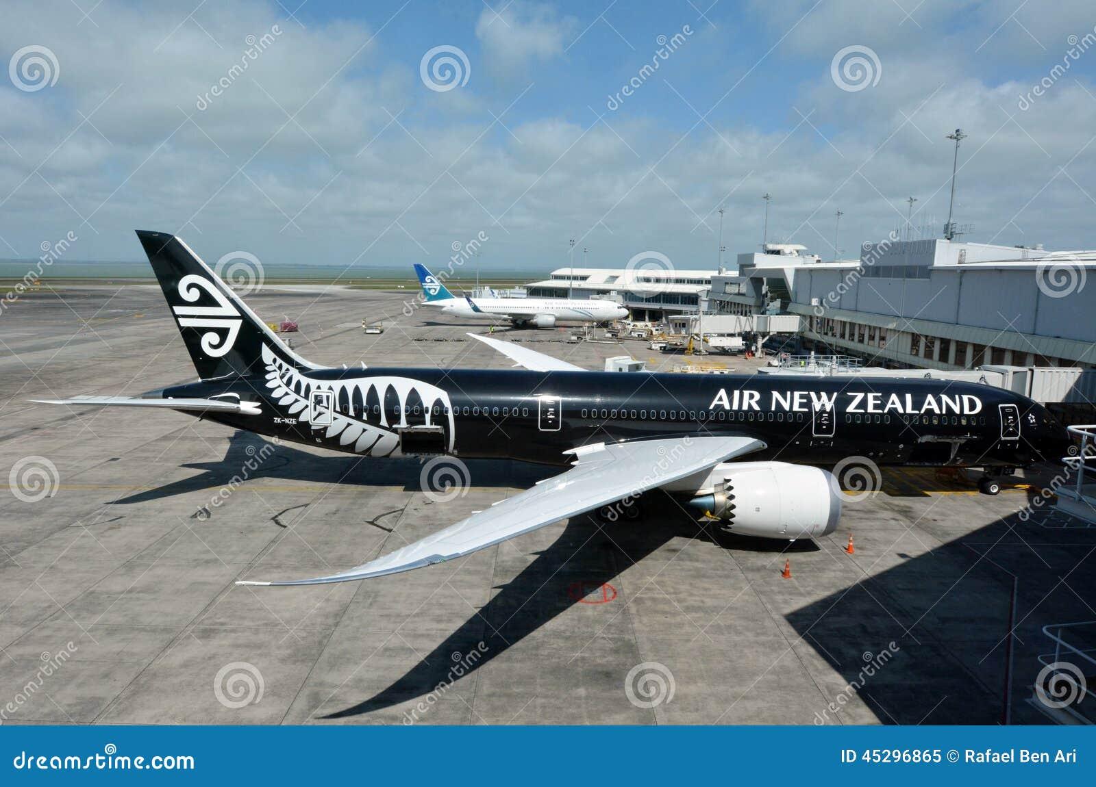 新西兰航空公司飞机