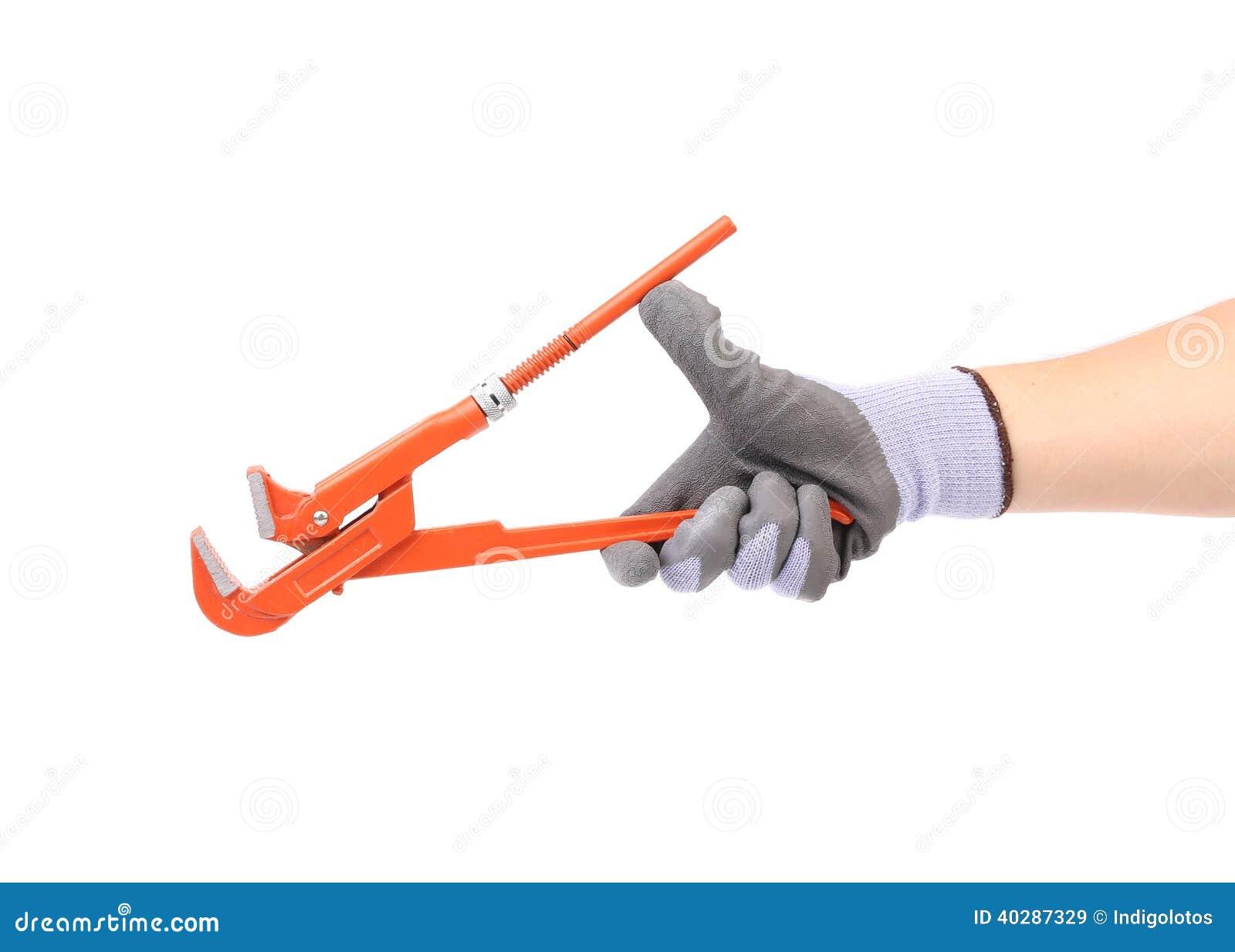 Работая руки с инструментами.