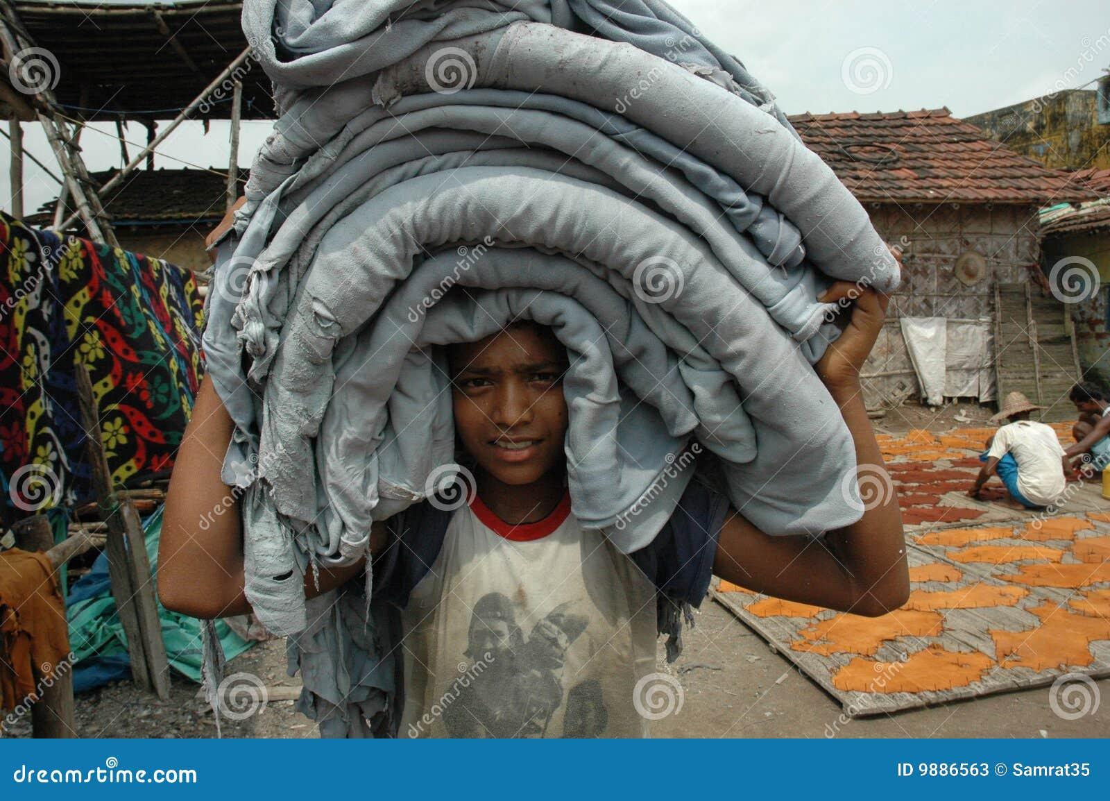 работа Индии ребенка