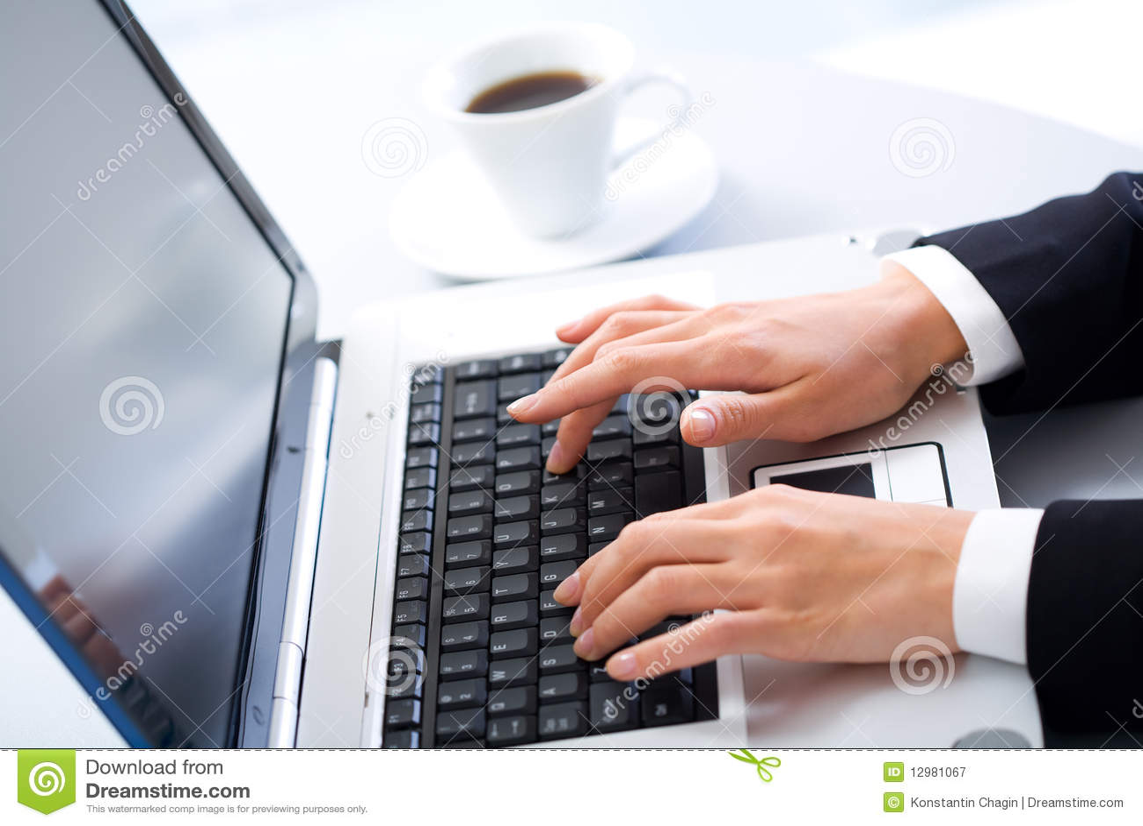 О работе на компьютере