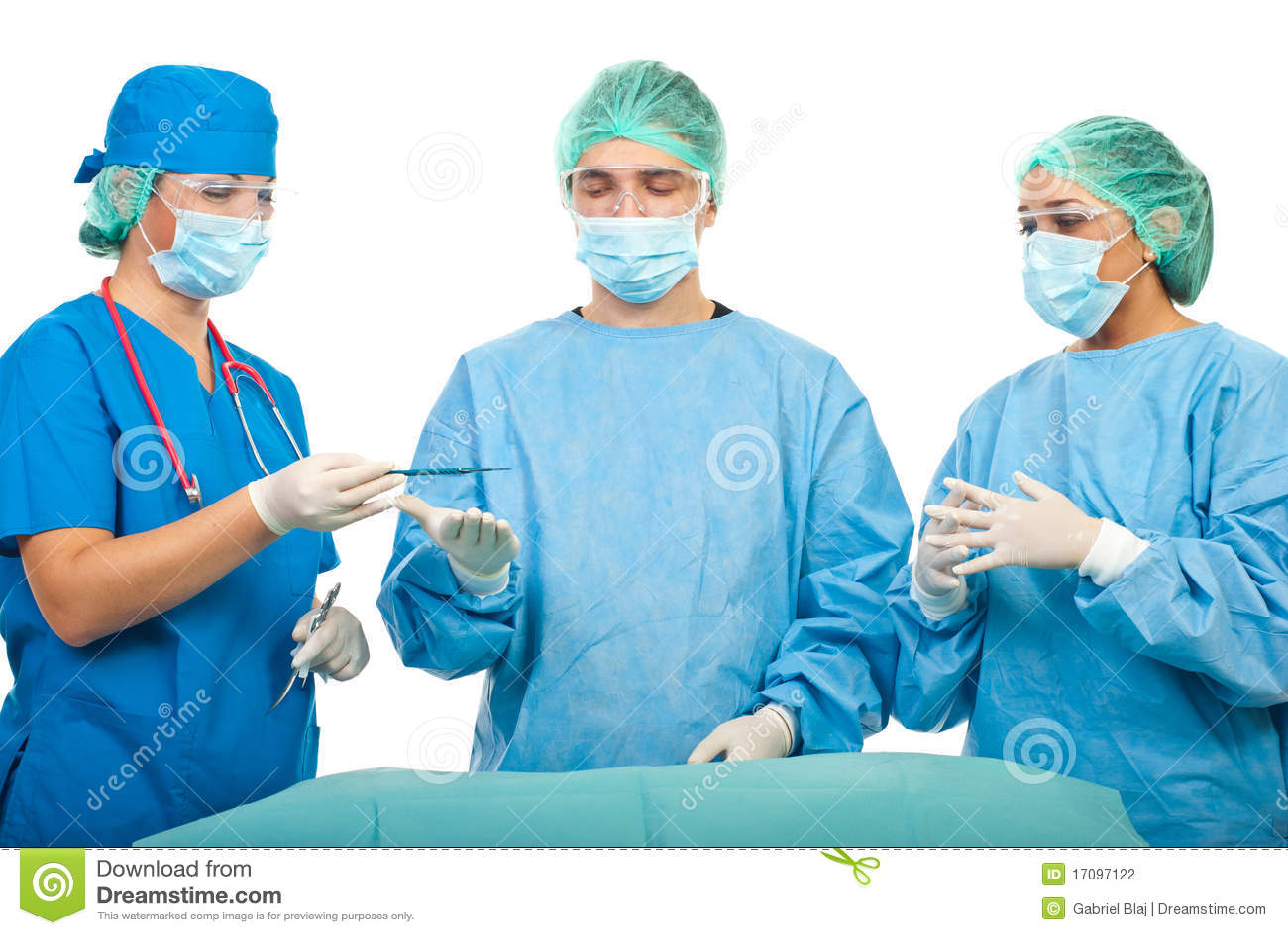 работа хирургов