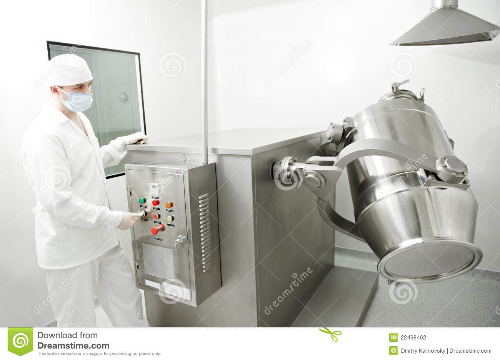 работник фабрики фармацевтический