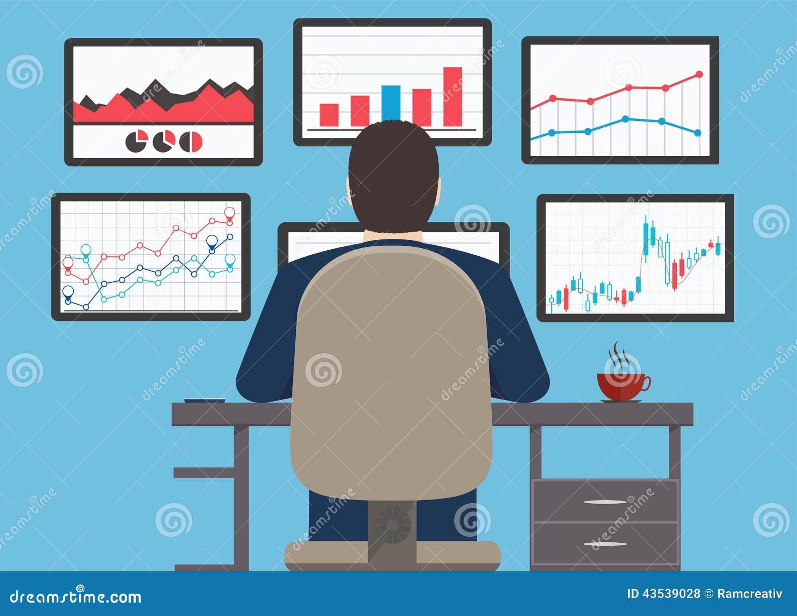Рабочее место, данные по аналитика сети и вебсайт s развития