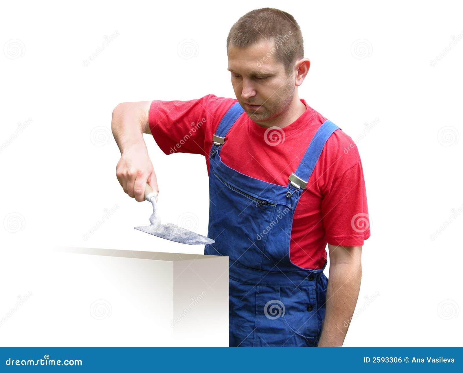 рабочий-строитель строителя