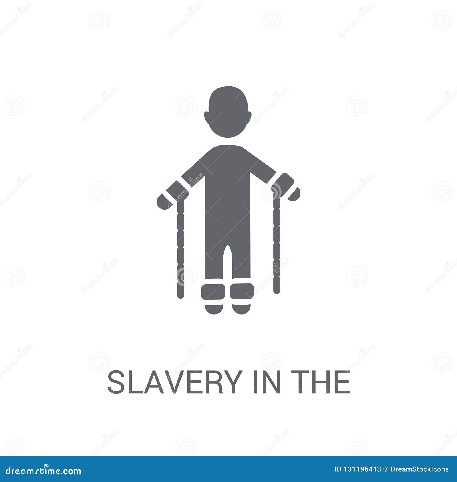 рабство в значке Соединенных Штатов