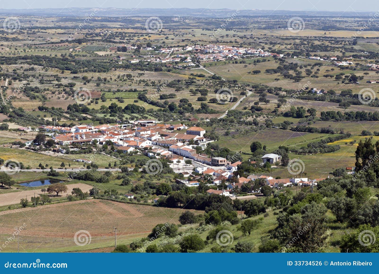 Равнины и села Alentejo