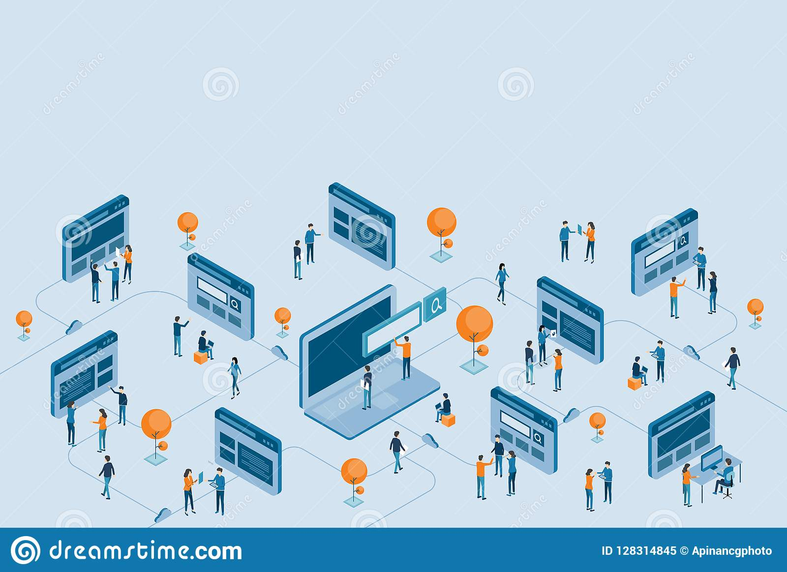 Равновеликая проектная модификация интернет-страницы и исследование цифрового дела онлайн