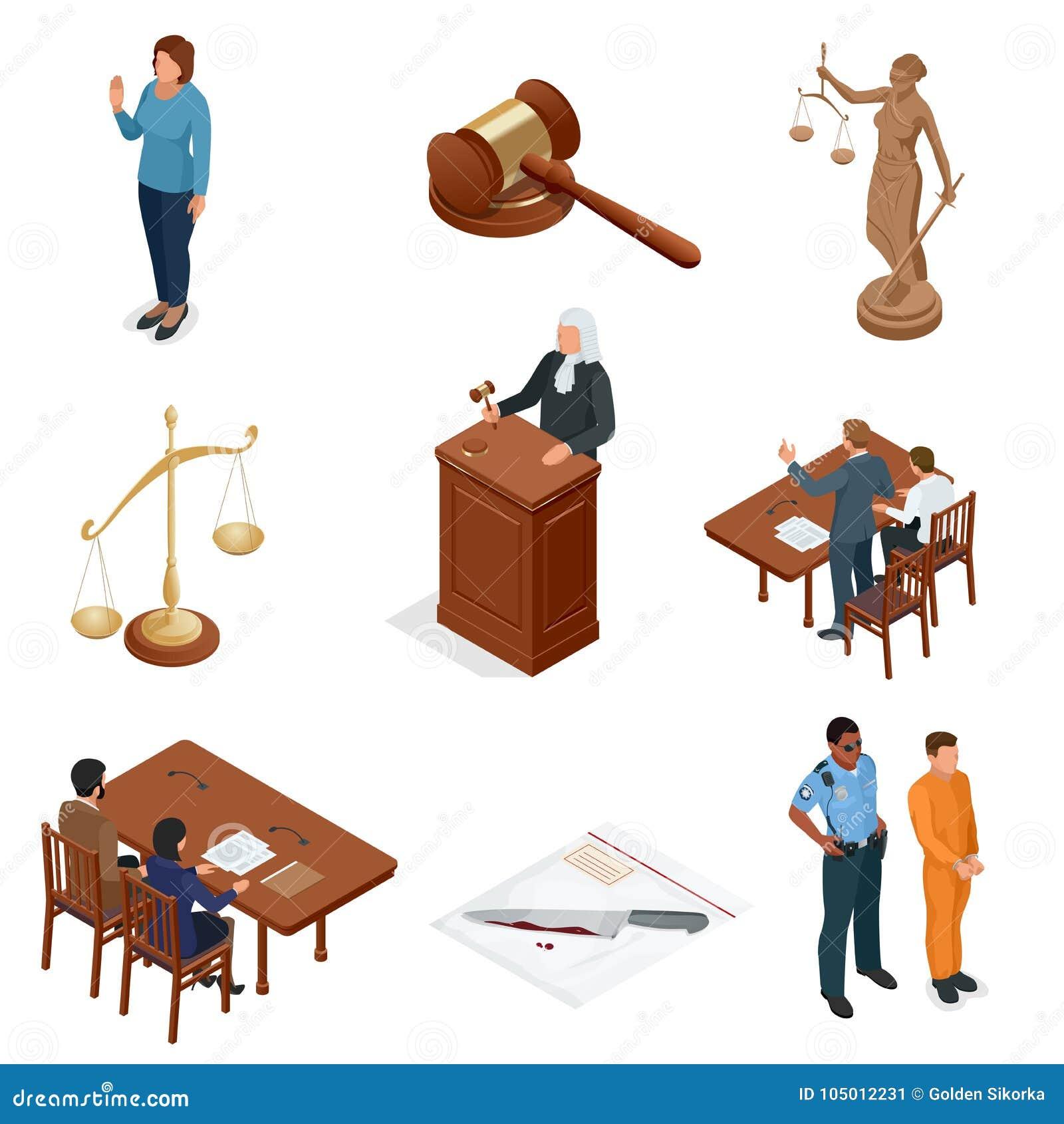 Равновеликие закон и правосудие Символы правовых регулирований Юридические установленные значки Законное юридическое, трибунал и