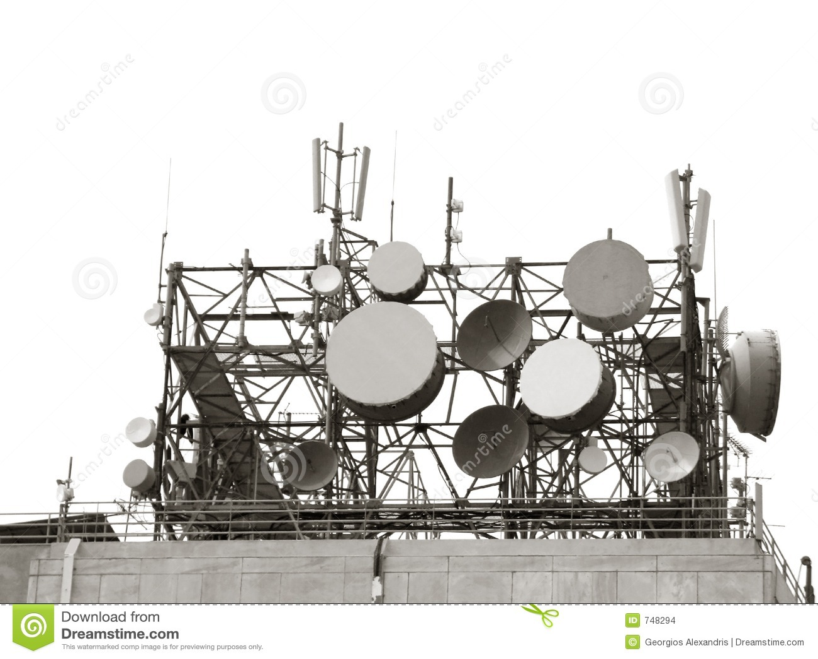 радиосвязь антенн