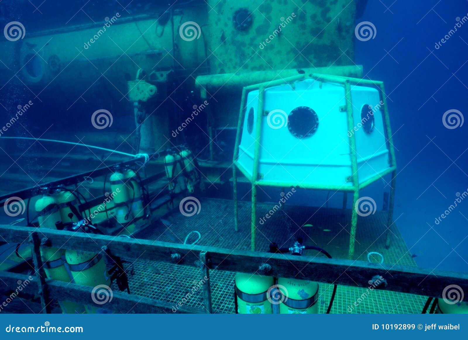 разбивочное исследование океана