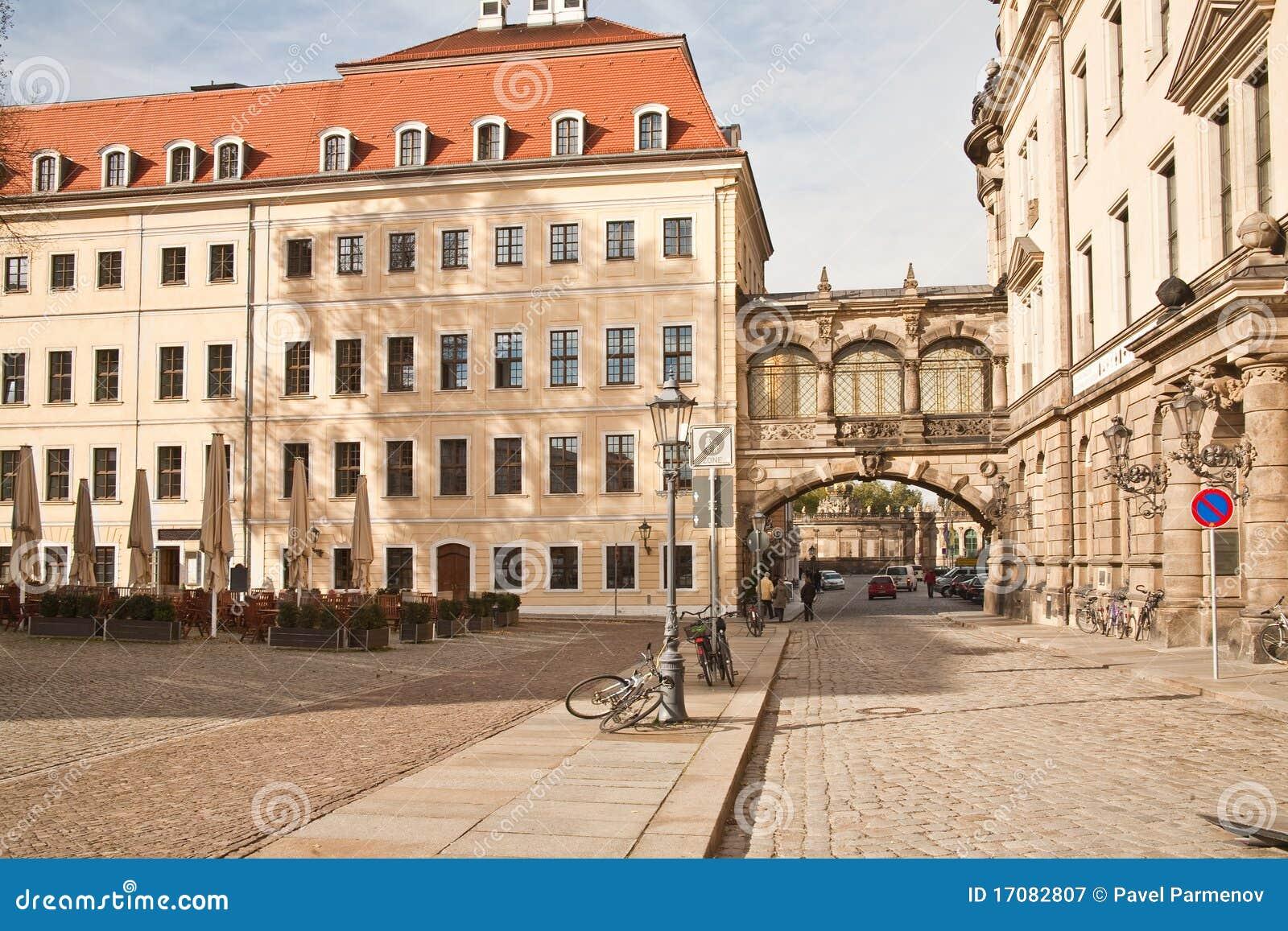 разбивочный город dresden исторический