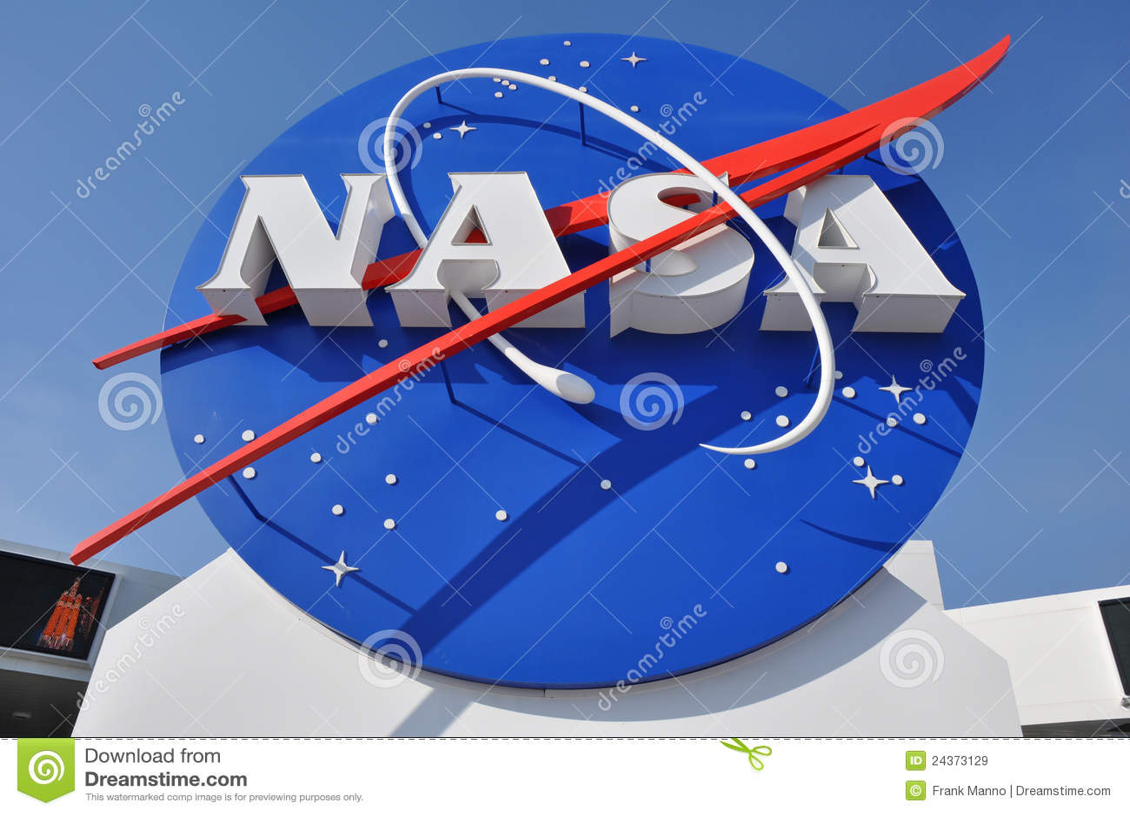разбивочный космос NASA логоса входа к