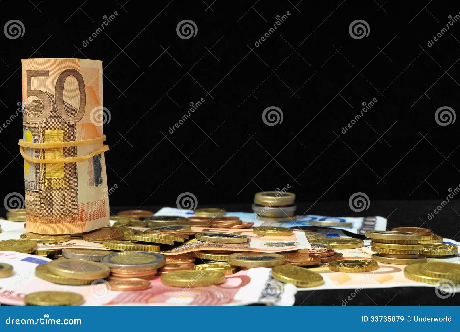 Разбросанные деньги