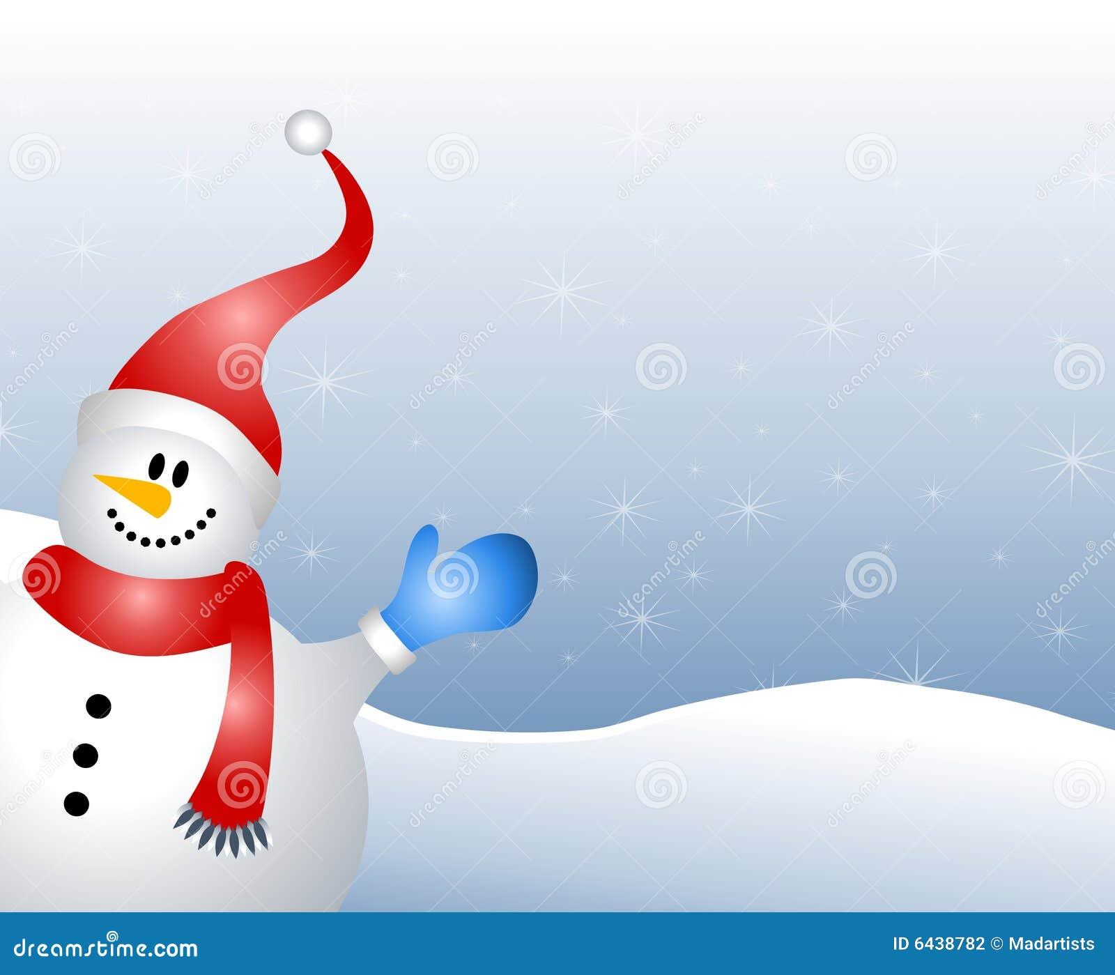 развевать снеговика предпосылки
