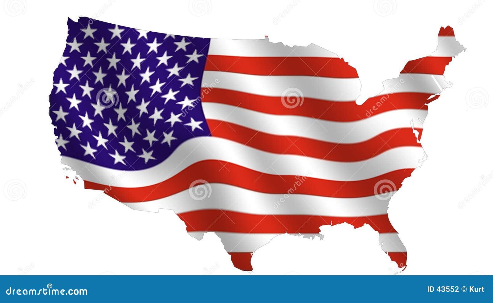 развевать США