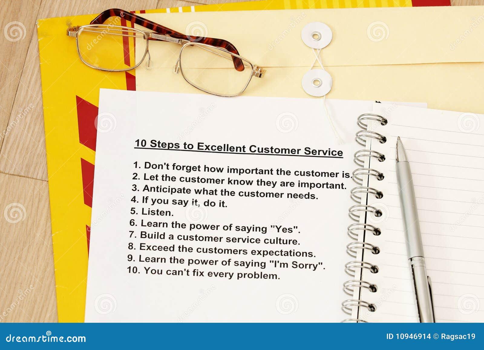 разделы 10 обслуживания клиента превосходные к