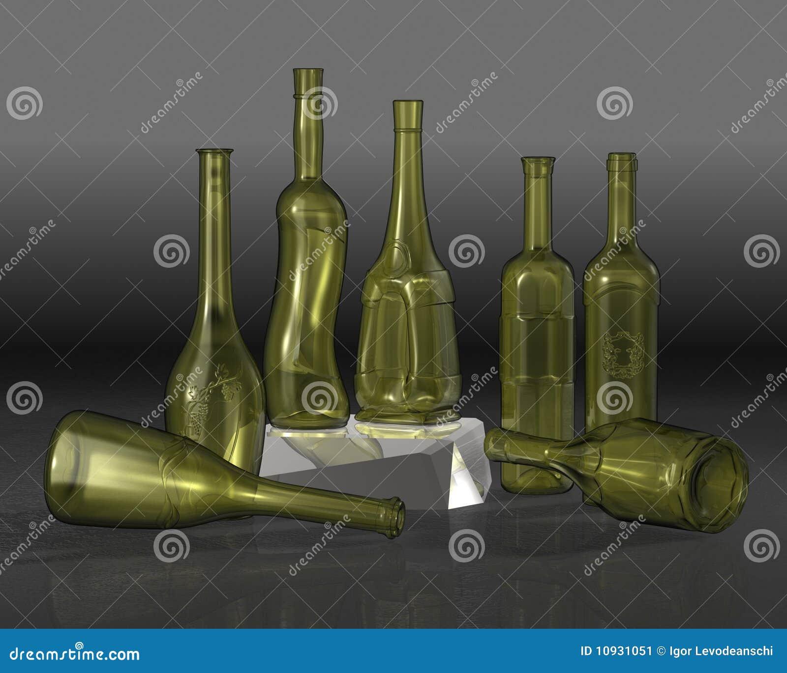 разливает состав по бутылкам