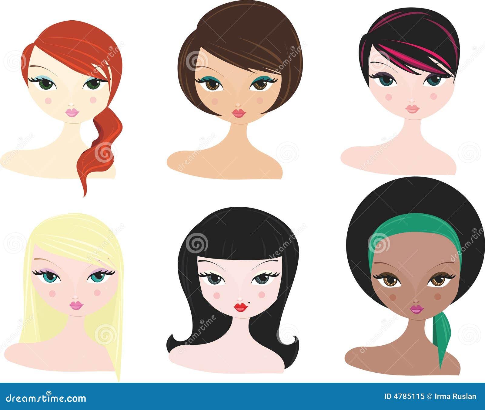 различные женщины
