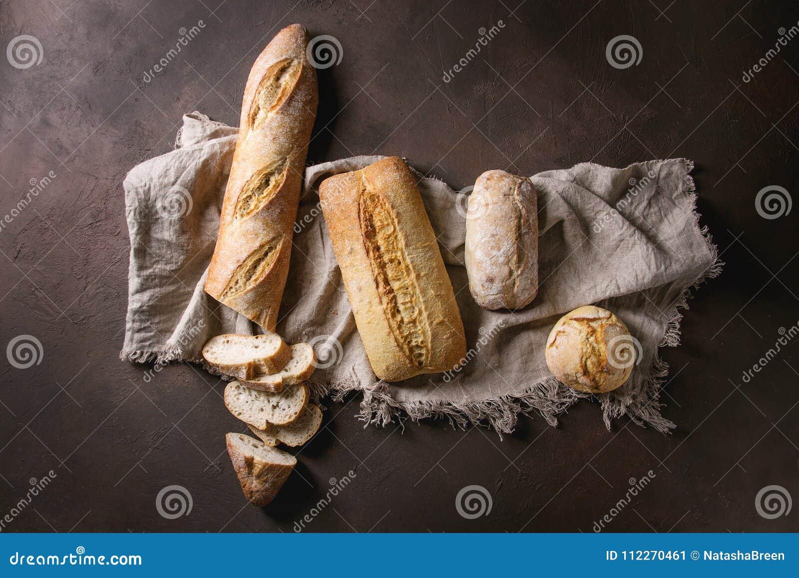 Разнообразие хлеба ремесленника