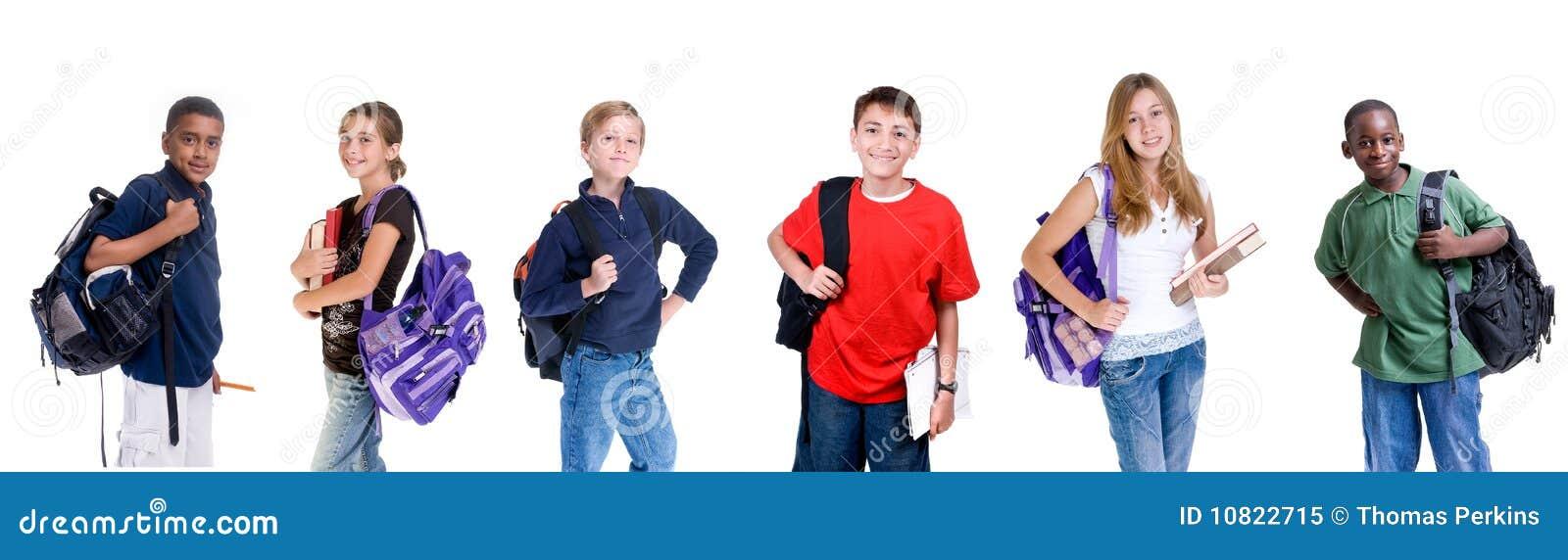 разнообразные студенты
