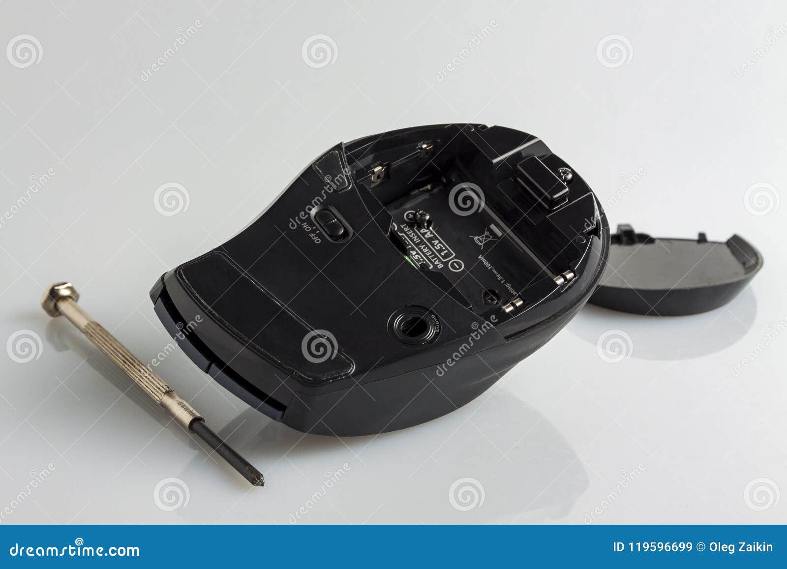 Разобрал мышь компьютера