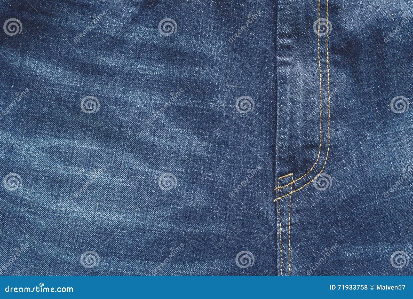 Разделите брюки джинсов голубого цвета с гульфиком