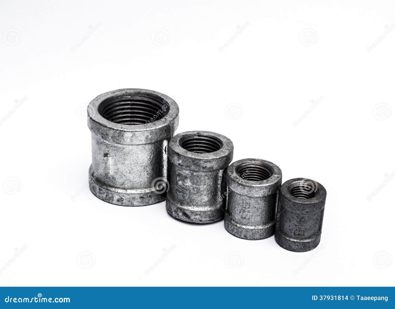 Различные штуцеры металла