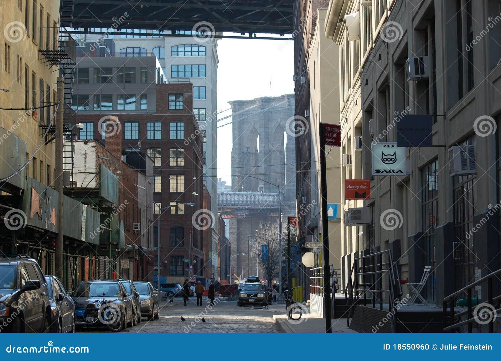 район новый ультрамодный york dumbo города