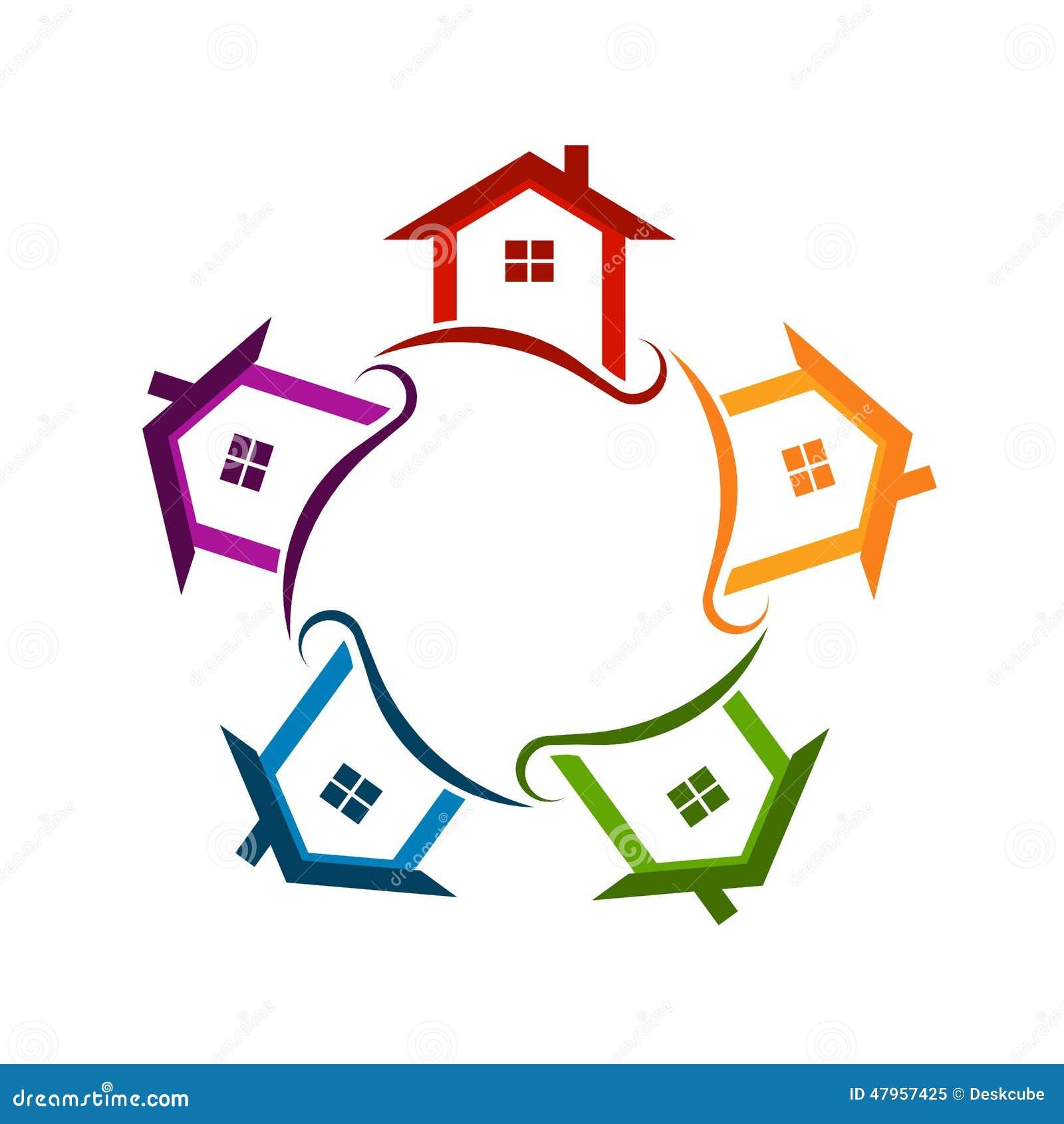Район общины расквартировывает логотип