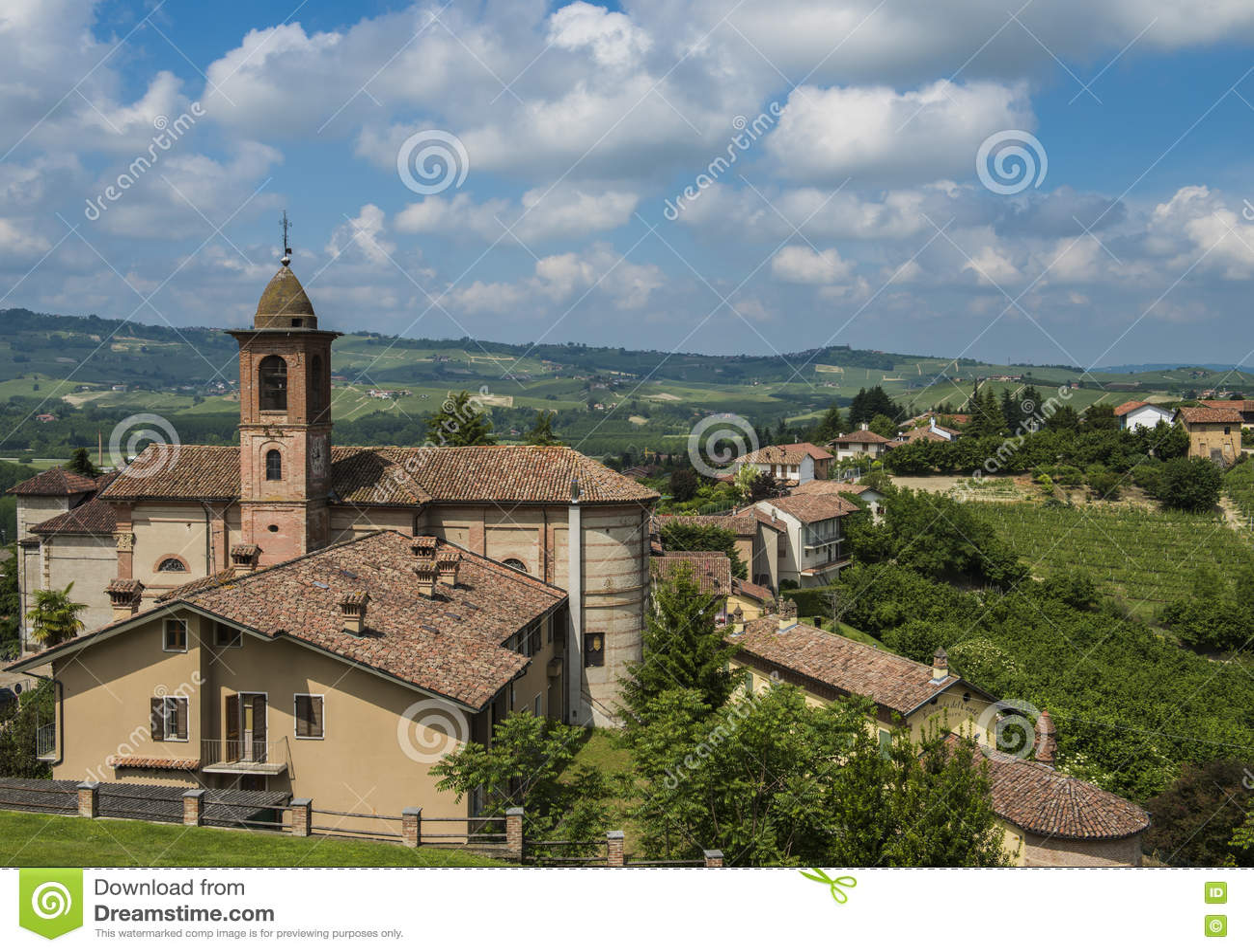 Район Grinzane Cavour вина Barolo, Пьемонт