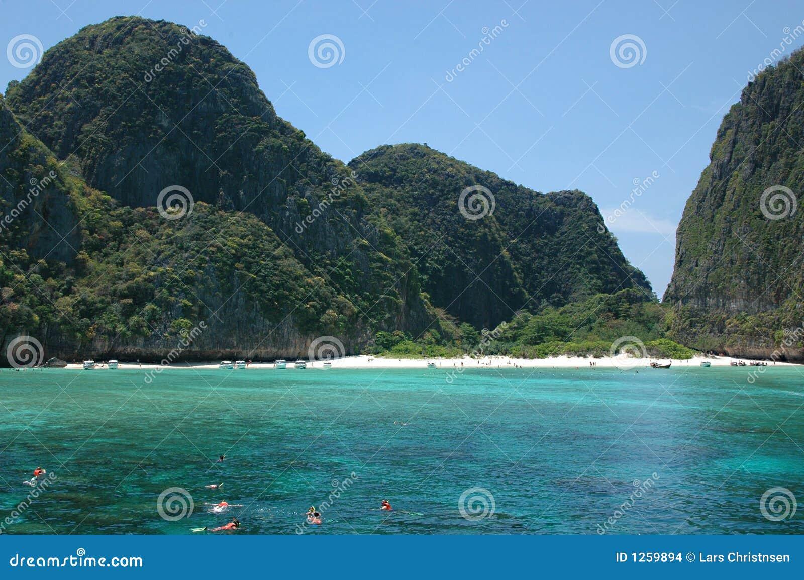 рай пляжа