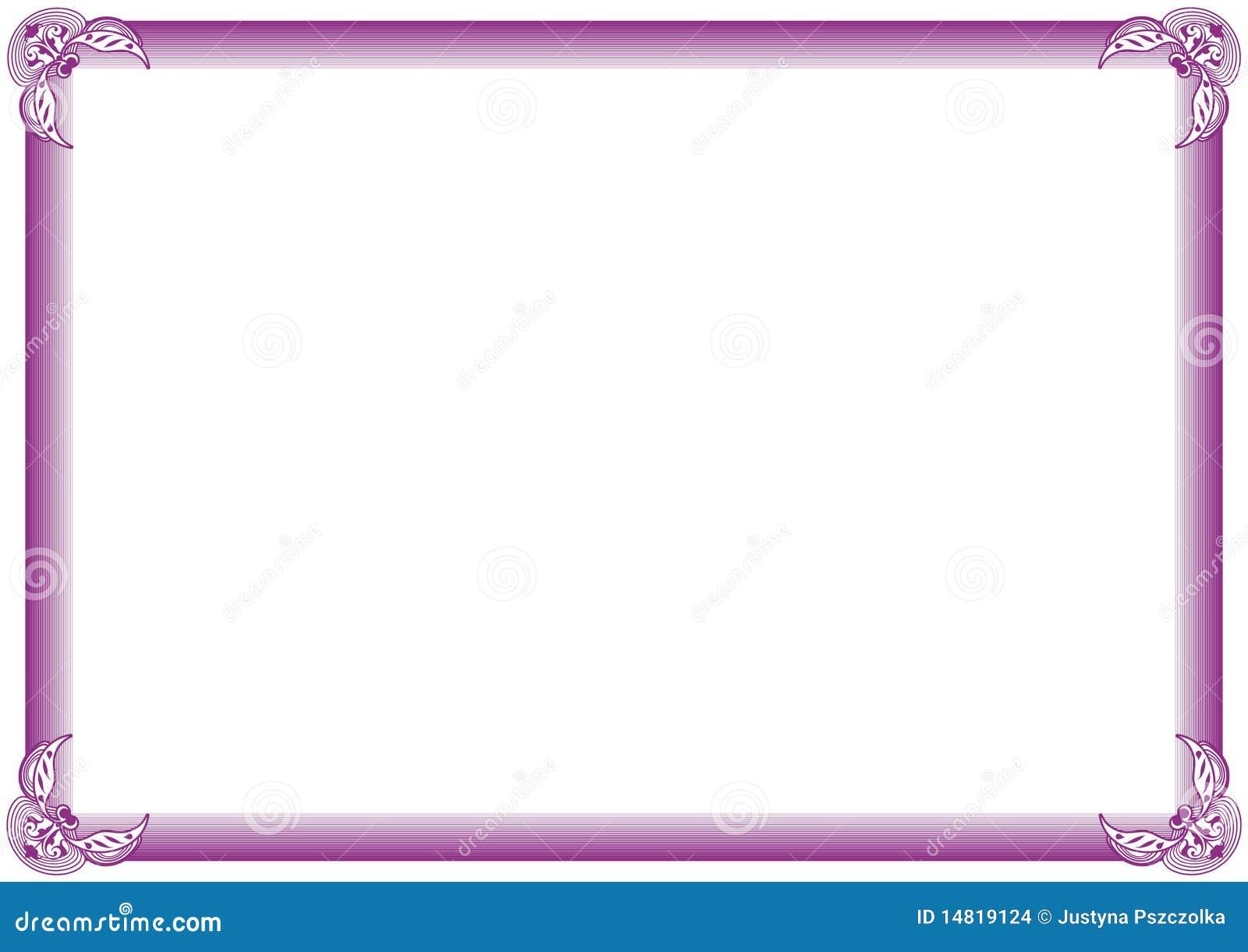 рамка диплома иллюстрация вектора иллюстрации насчитывающей  рамка диплома