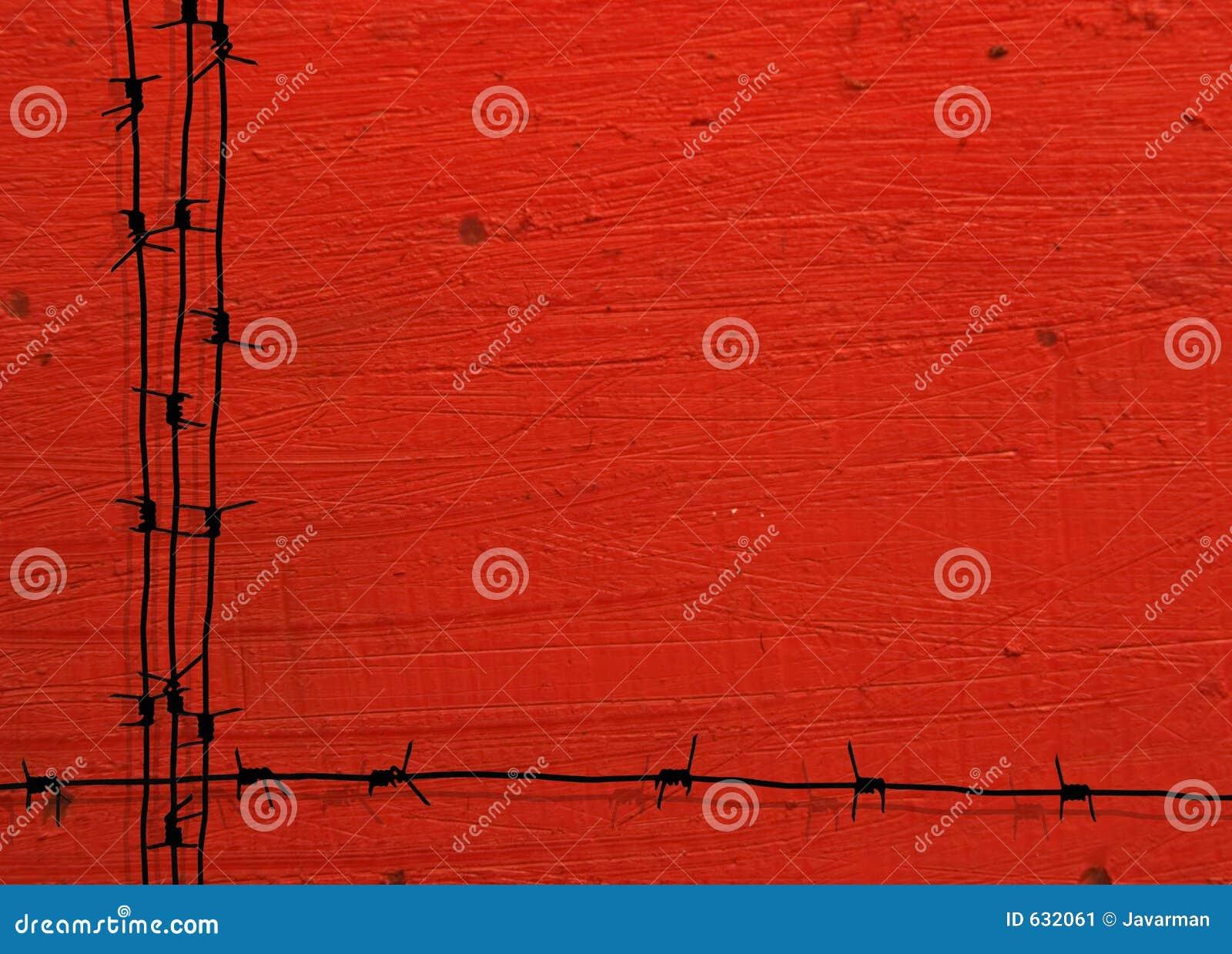 Download Рамка колючей проволоки Grunge Иллюстрация штока - иллюстрации насчитывающей опасность, рамки: 632061