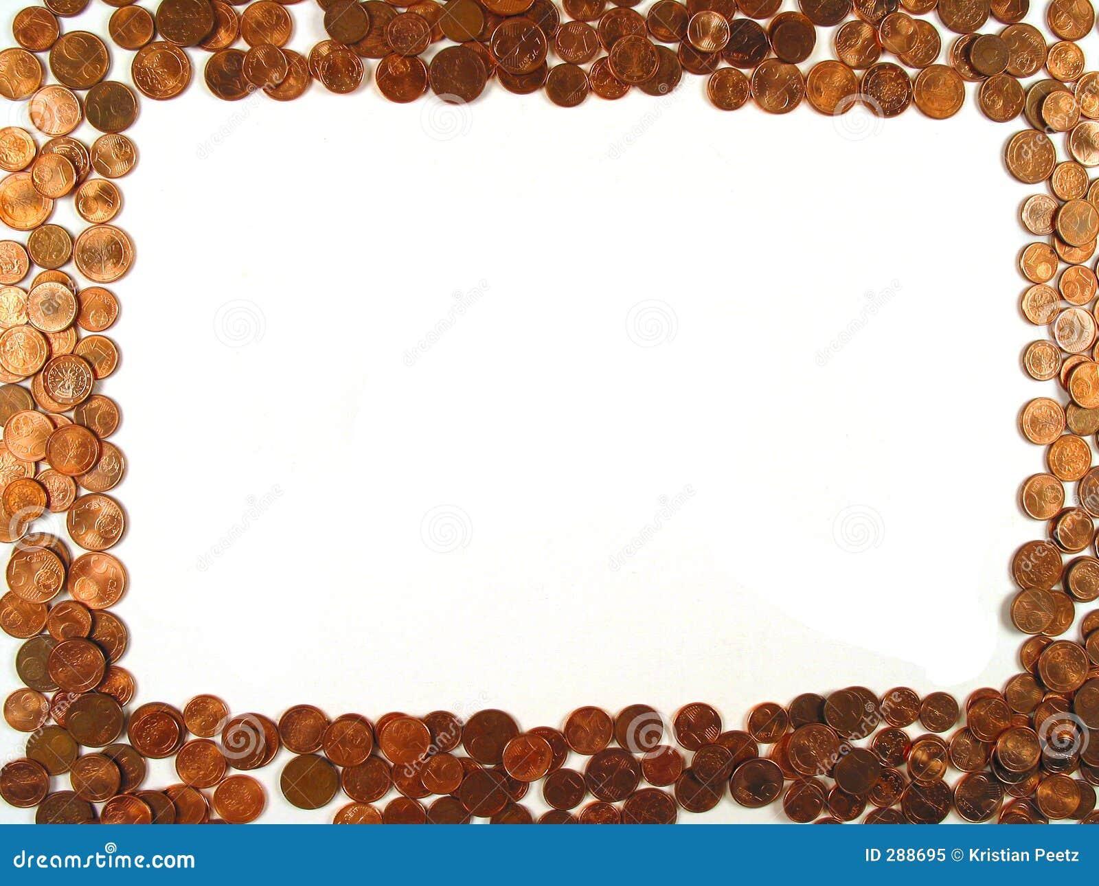 рамка монеток