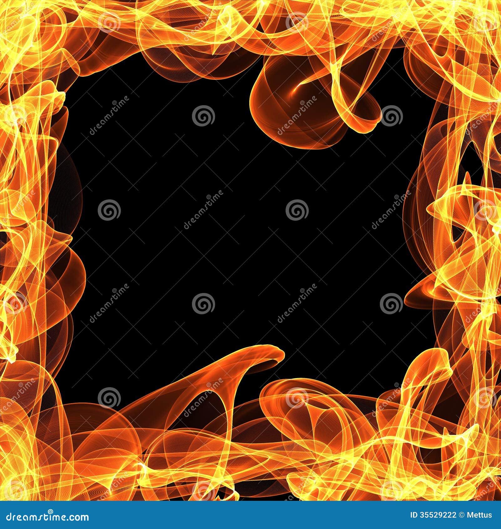 картинки огненных рамок реальности