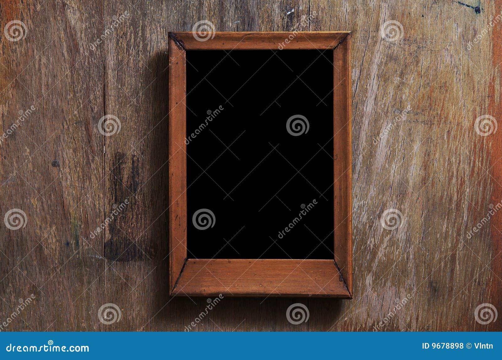 рамка предпосылки пустая деревянная