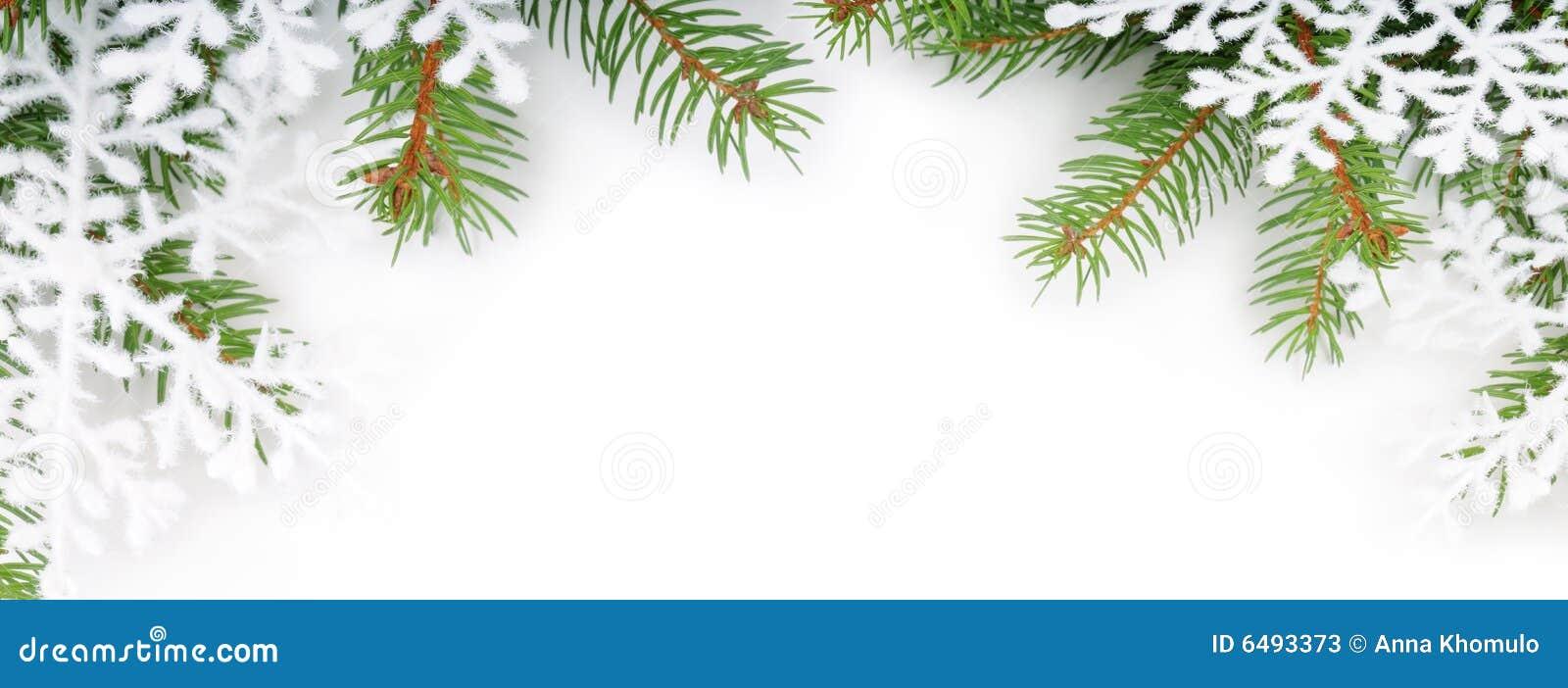 Рамка для открытки ветка сосны со снежком, лечусь
