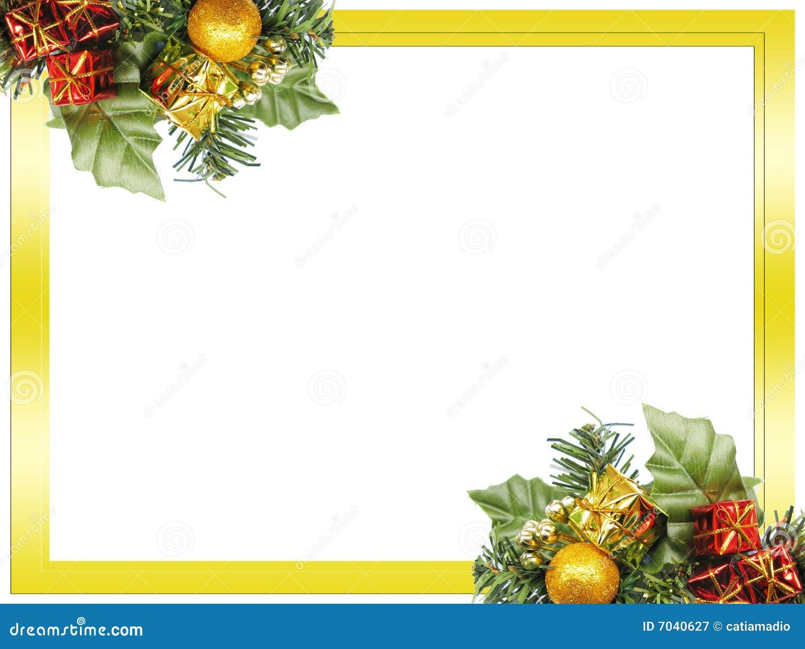 рамка рождества