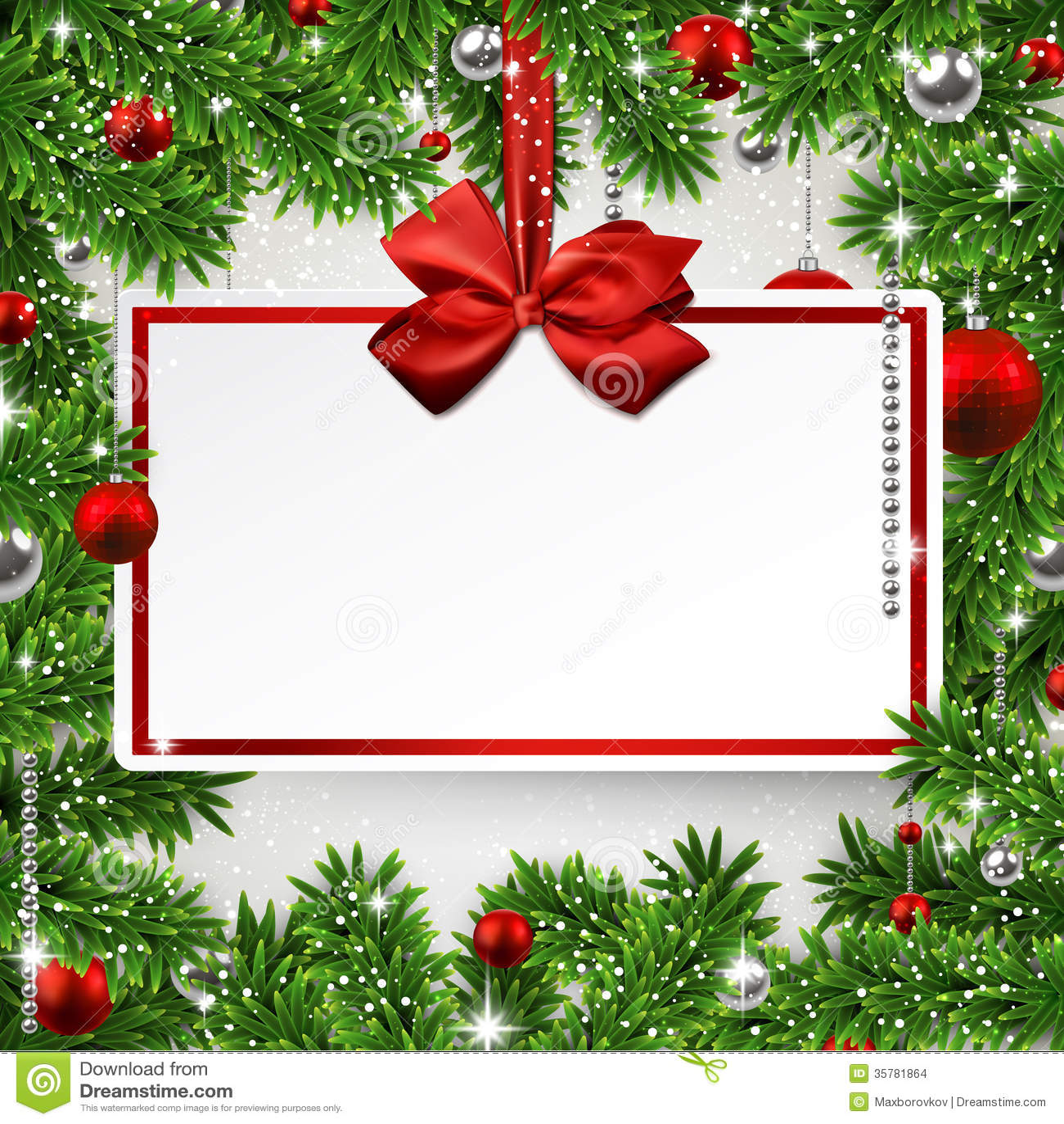 Приглашение открытка на новогодний корпоротив