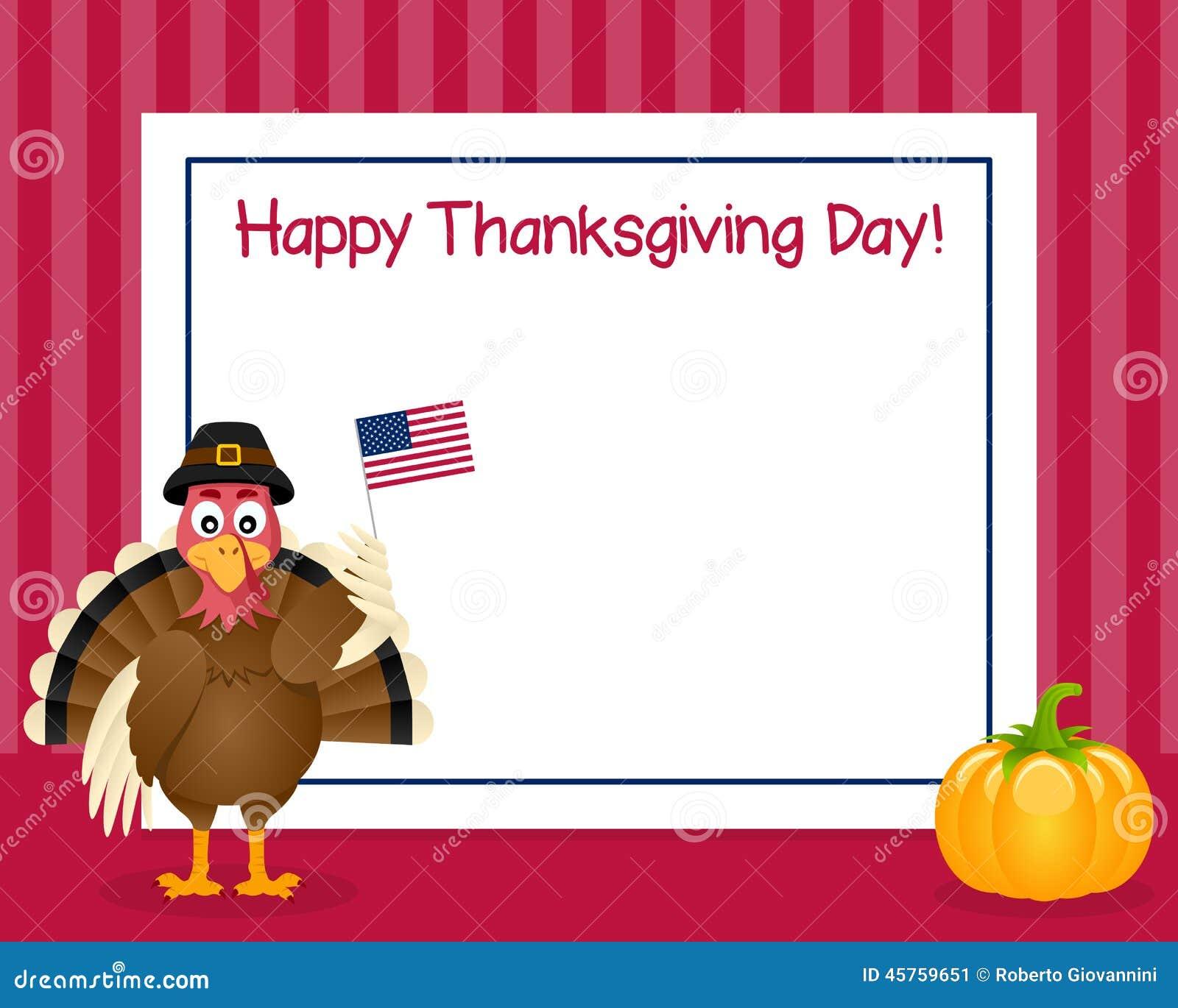 Рамка Турции официальный праздник в США в память первых колонистов Массачусетса горизонтальная
