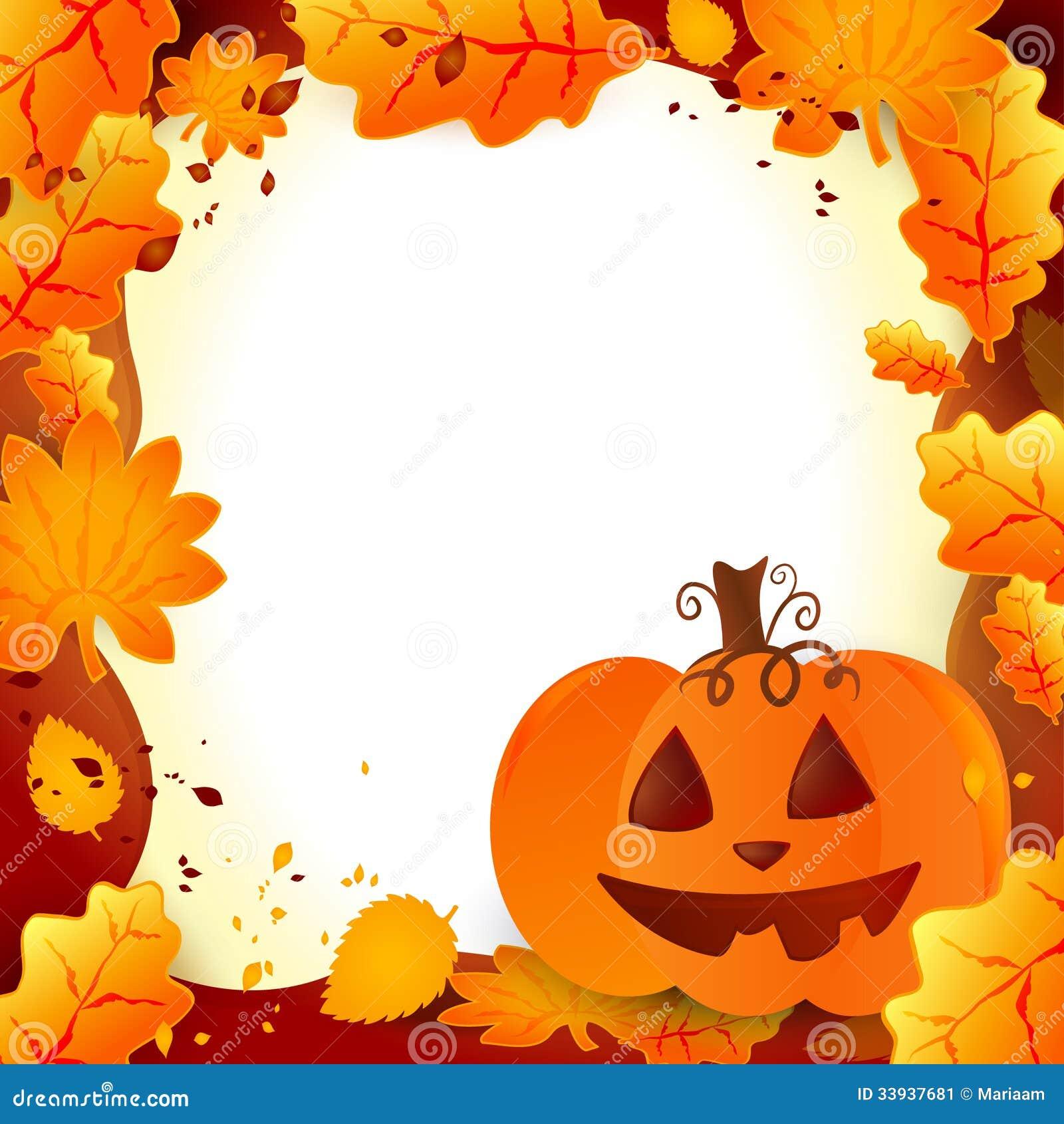 Рамка хеллоуина