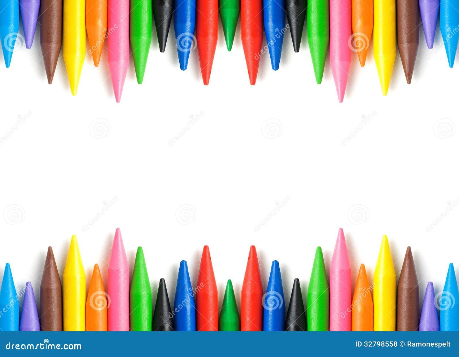 Рамка crayons воска