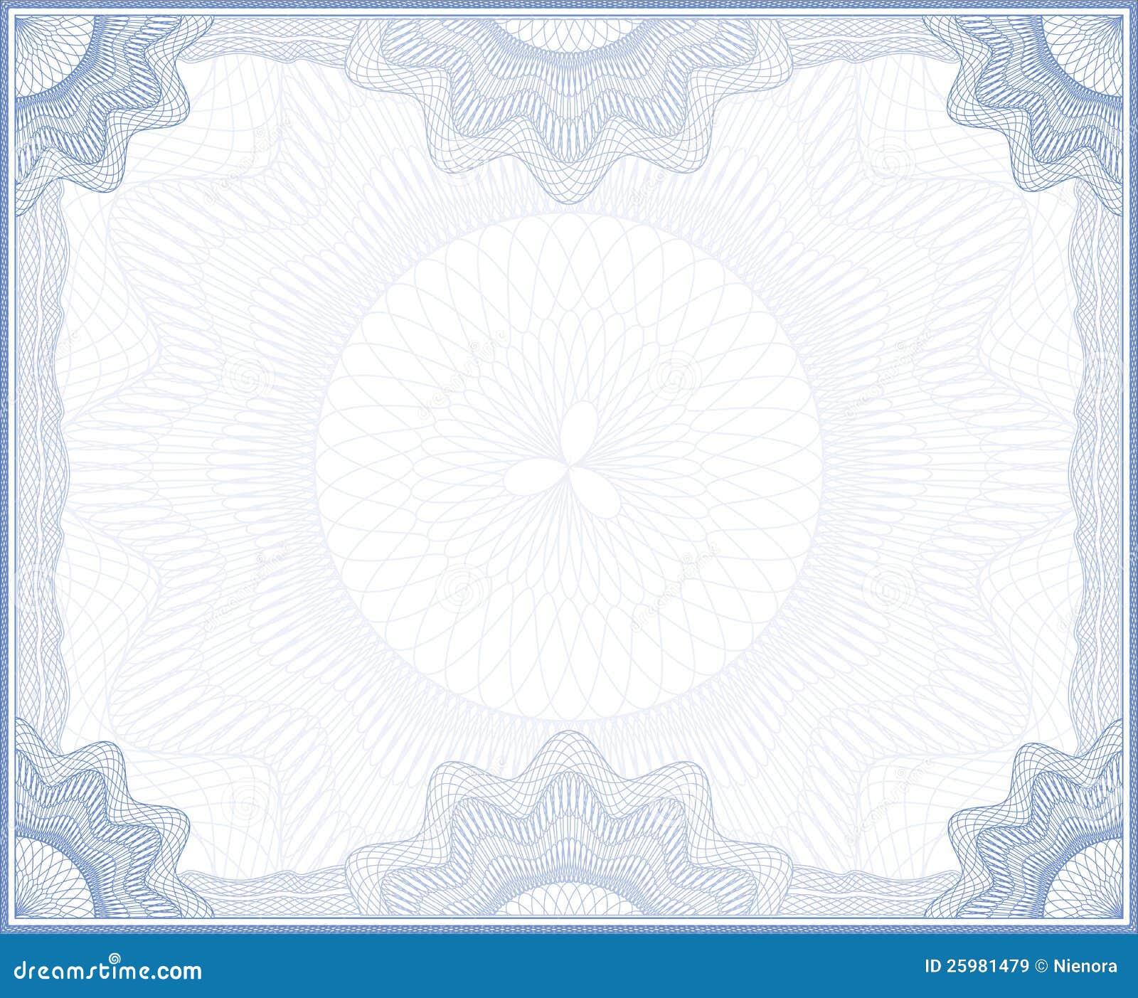Рамка guilloche иллюстрация вектора изображение насчитывающей  Рамка guilloche