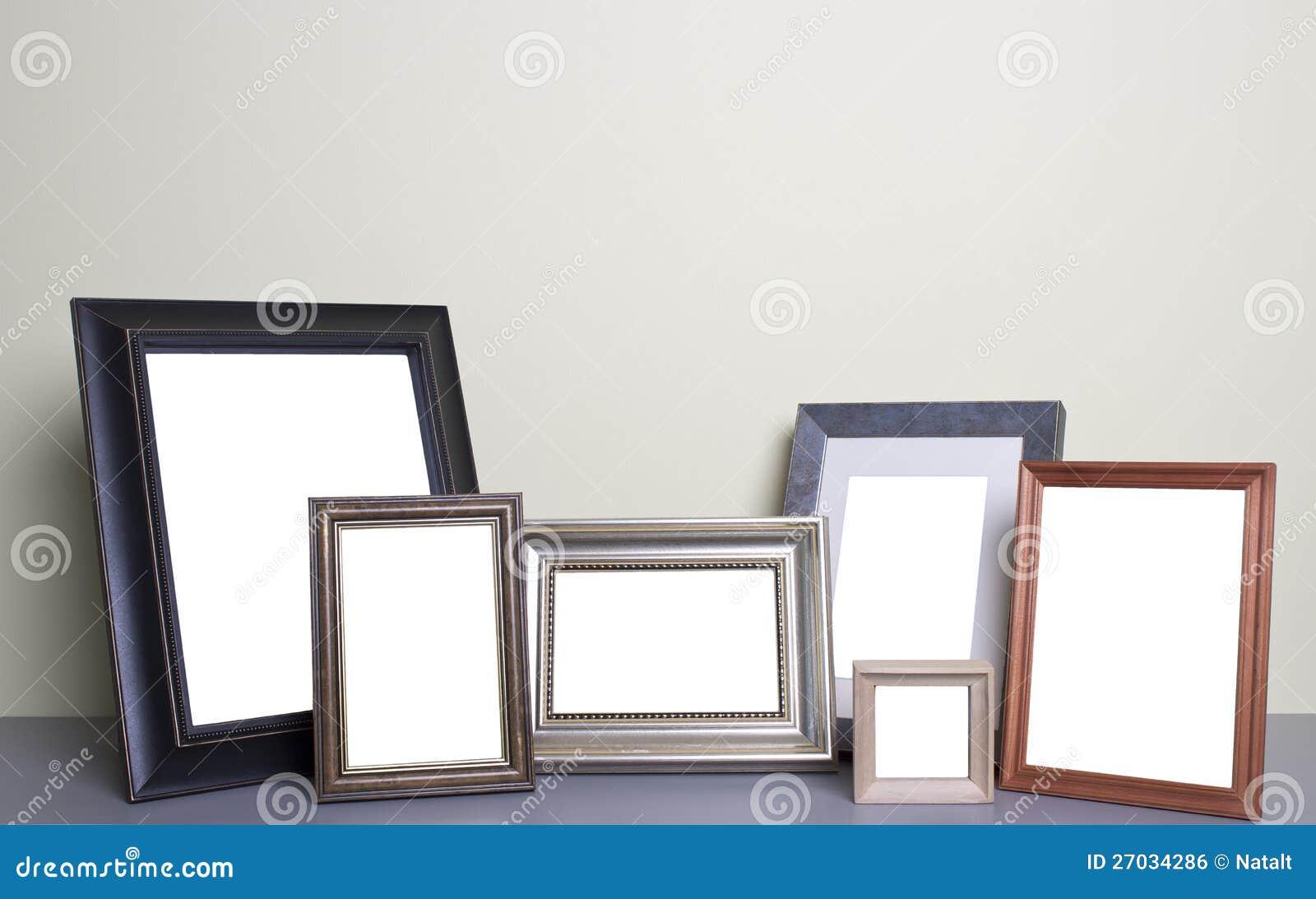 Рамки фото на таблице