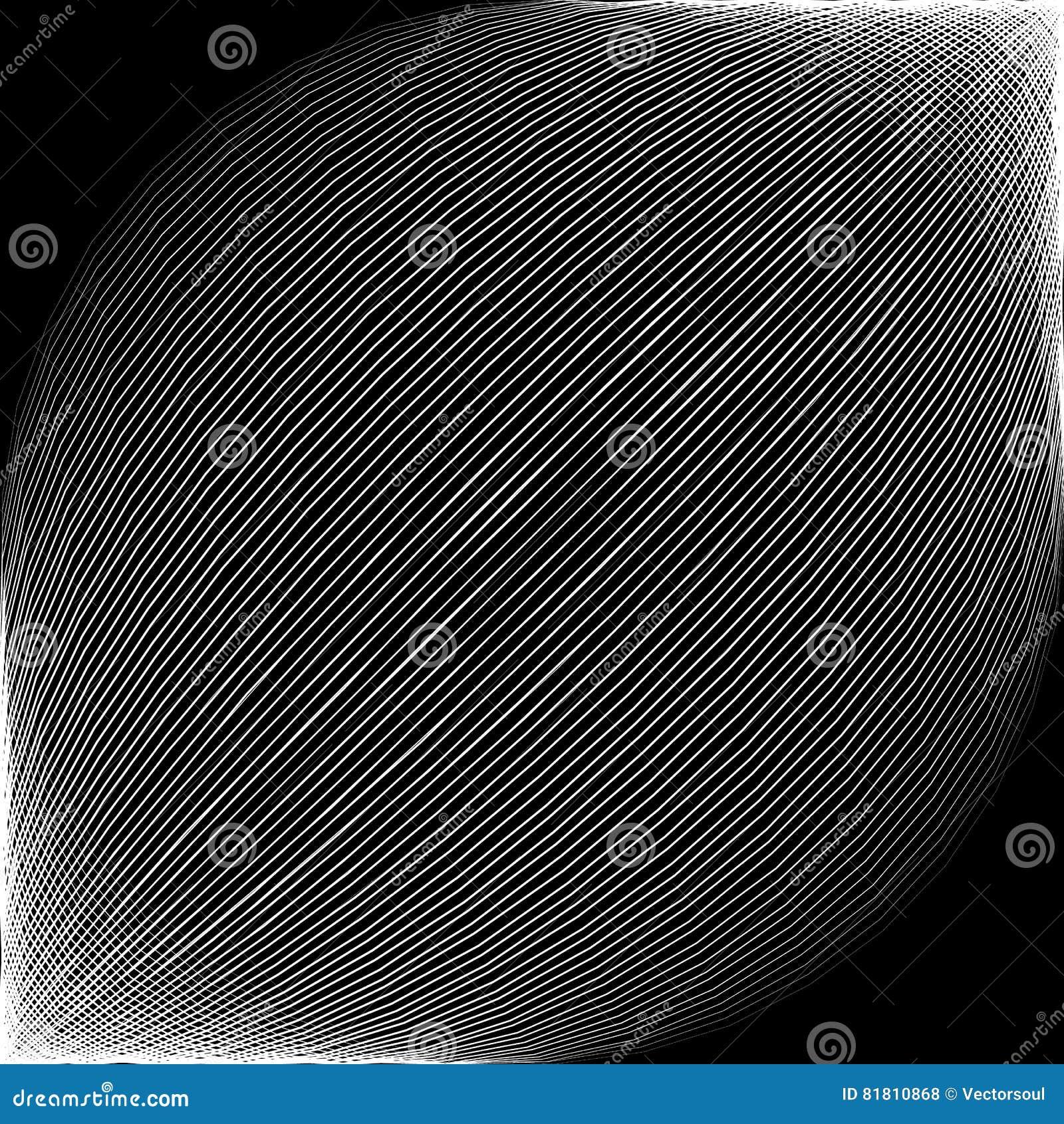 Раскосные линии с сферически конспектом искажения однокрасочным,