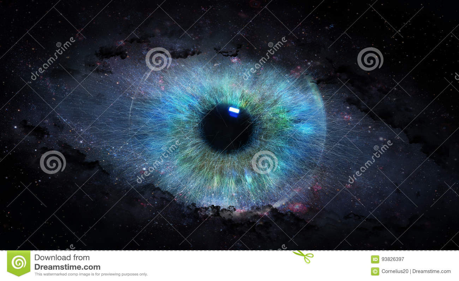 Раскройте глаз в космосе