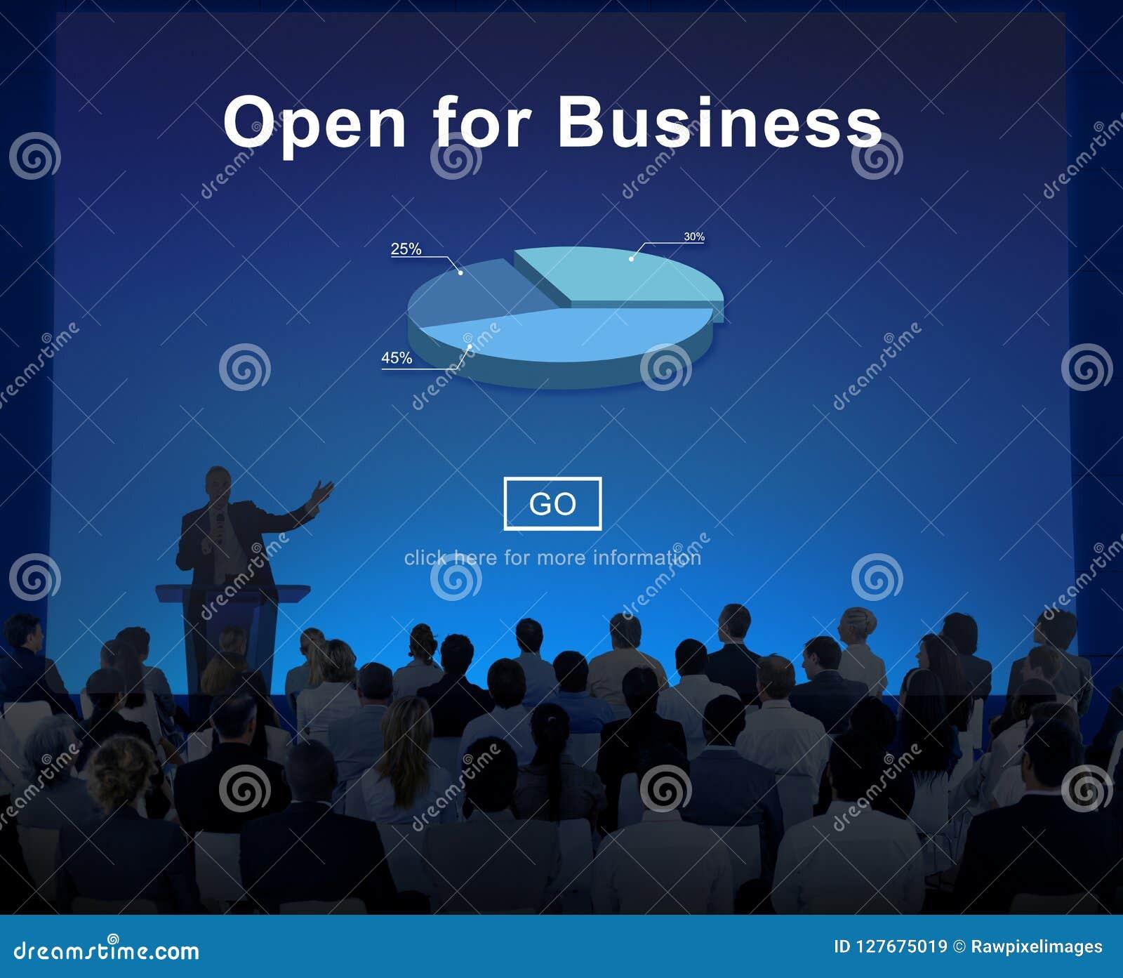Раскройте для концепции индустрии партнерства дела