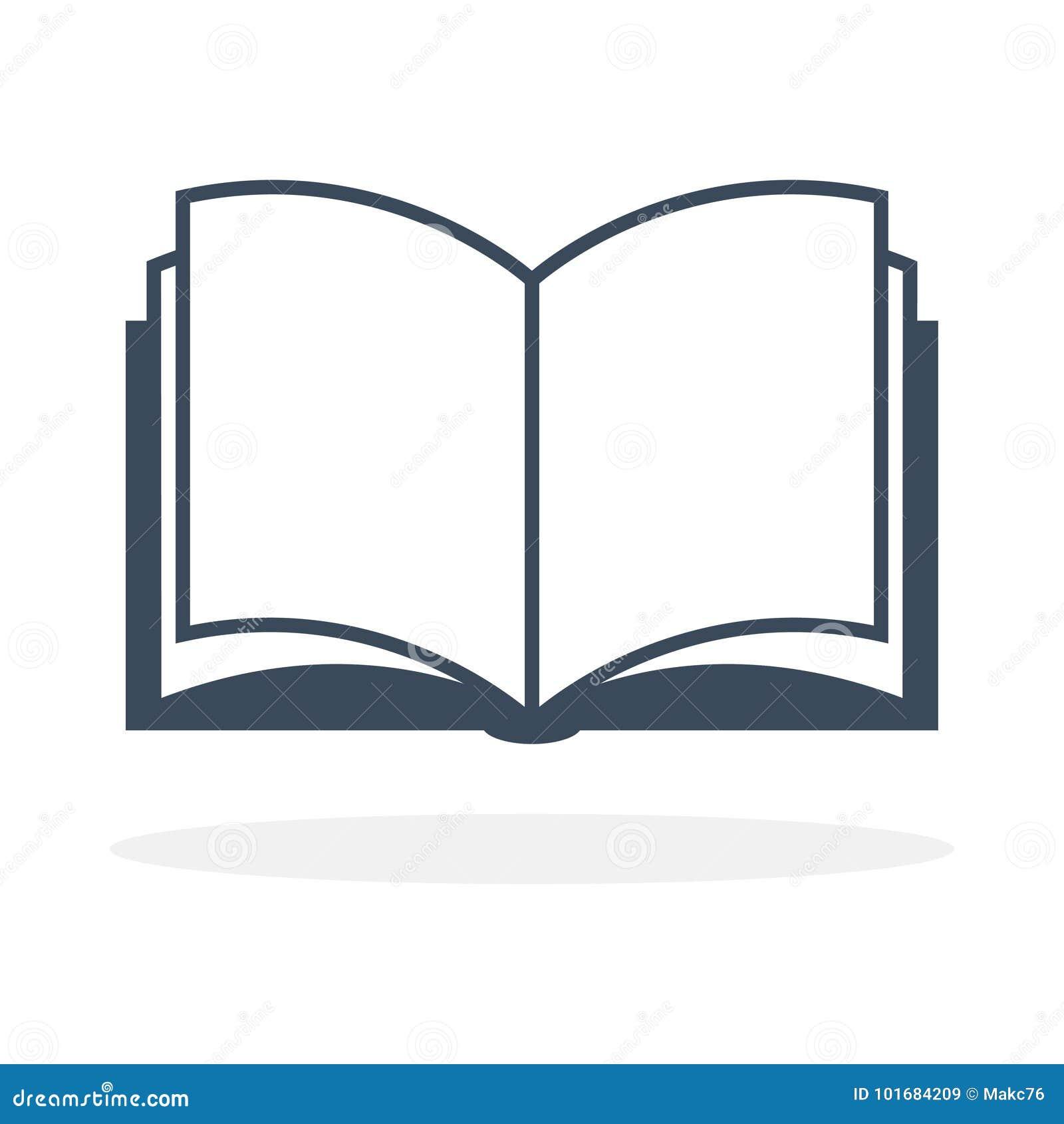 Раскройте значок книги