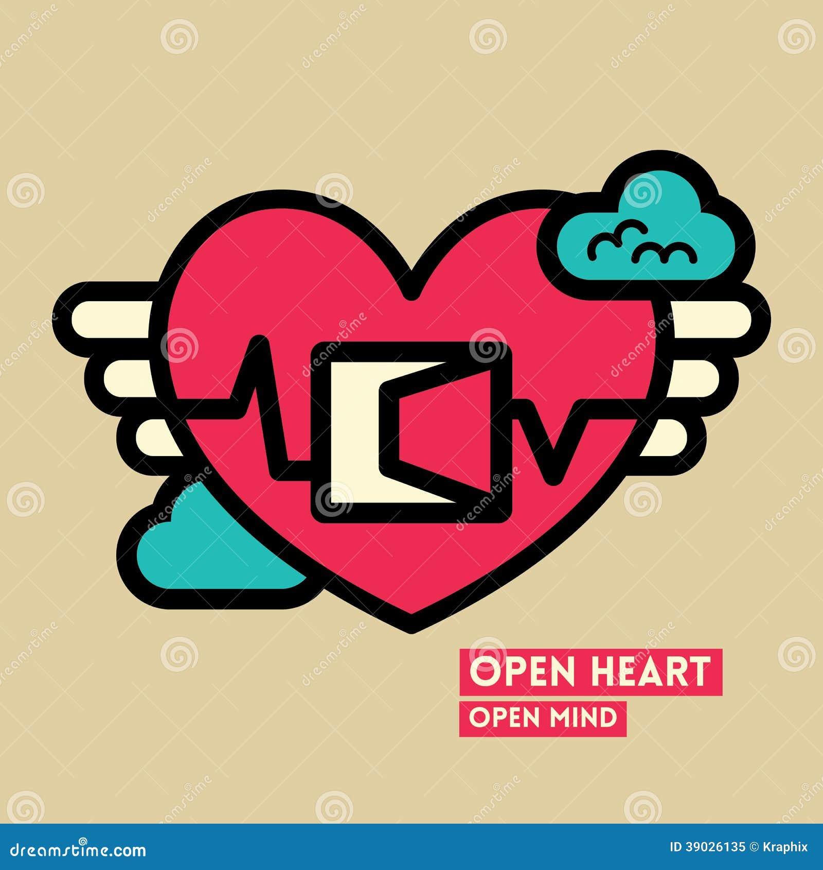 Раскройте иллюстрацию концепции свободы сердца и разума